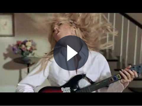 Guitar Hero World Tour: nuovo spot con Heidi Klum protagonista