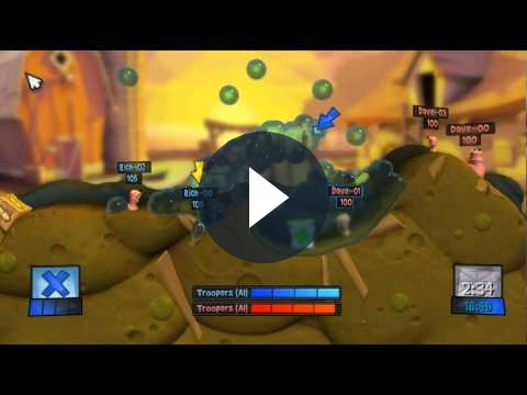Worms Revolution, l'annuncio ufficiale da Team17 [VIDEO]