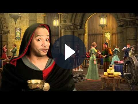 The Sims Medieval: video divertente con Donald Faison