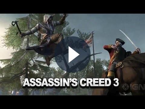 Assassin's Creed 3: obiettivi sbloccabili e trailer della versione Wii U [VIDEO]