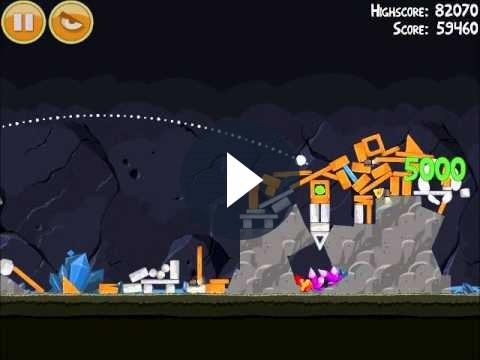 Angry Birds su iPhone: guida al primo livello di Mine and Dine