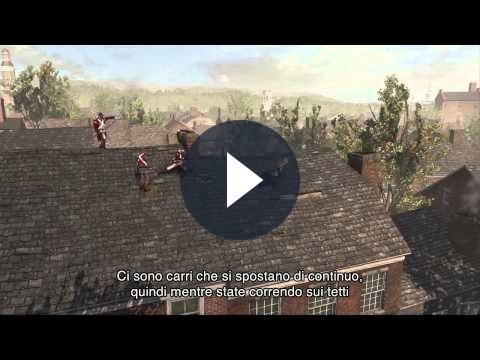 Assassin's Creed 3: il gameplay del gioco nel quarto filmato della serie Inside [VIDEO]