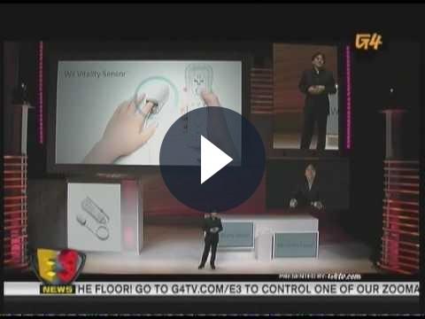 Accessori Nintendo Wii: il Vitality Sensor è ancora in sviluppo
