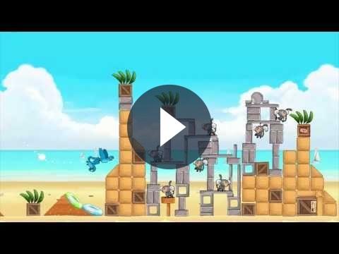Angry Birds Rio: un video trailer di Beach Volley