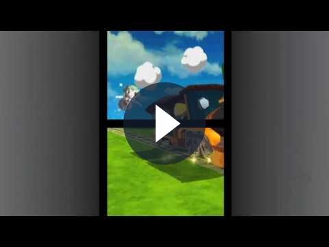Zelda Spirit Tracks – opening cinematic trailer