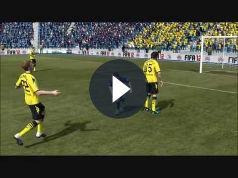 FIFA 12: un video divertente sulle imperfezioni dell'Impact Engine