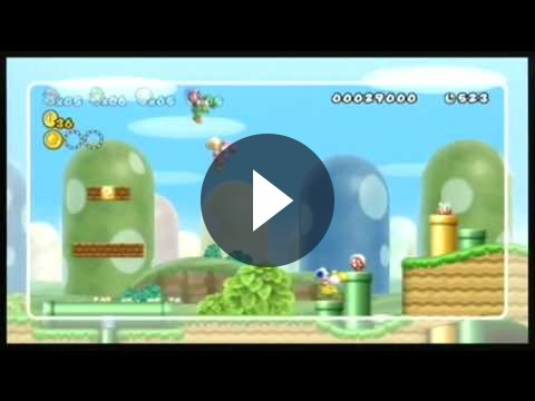 New Super Mario Bros Wii – multa al pirata