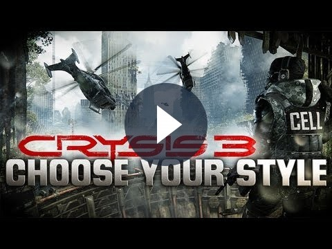 Crysis 3, gameplay della modalità single player in un filmato interattivo [VIDEO]