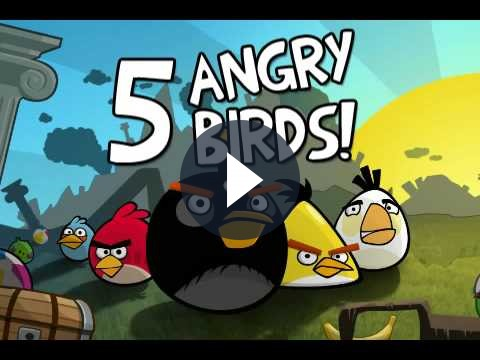 Angry Birds arriva in tutte le sue versioni anche in DVD per PC