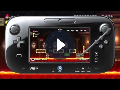 New Super Mario Bros U: gameplay del gioco per Wii U [VIDEO]