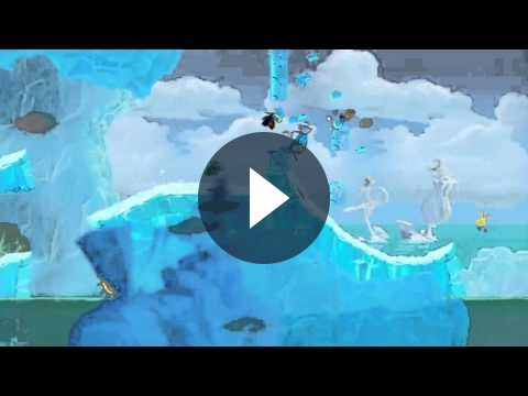 Rayman Origins si mostra in un nuovo divertente video trailer