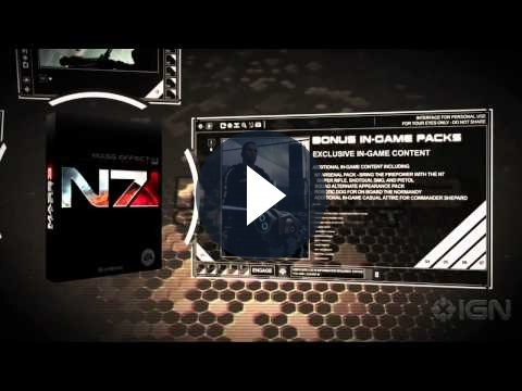 Mass Effect 3 avrà una Collector's Edition molto ricca: un nuovo video trailer