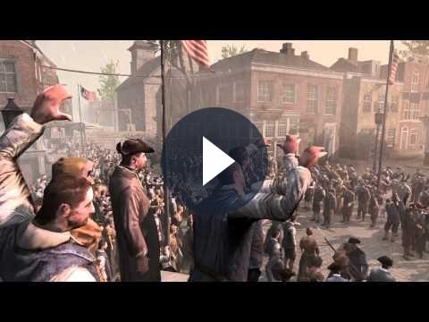 Assassin's Creed 3: trailer di lancio e dettagli sul dlc Benedict Arnold [VIDEO]