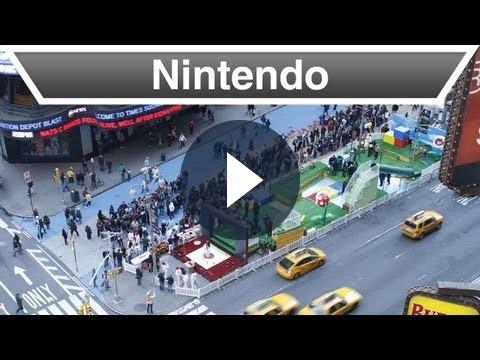 Super Mario 3D Land in un divertente video del lancio a New York
