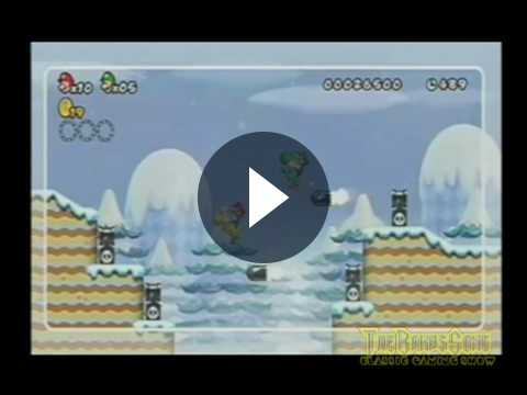 New Super Mario Bros Wii – Super skills trailer