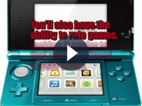Nuova Nintendo 3DS: l'eStore sarà facile da usare
