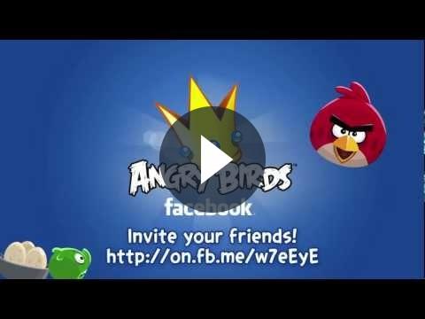 Angry Birds arriva anche su Facebook dal giorno di San Valentino