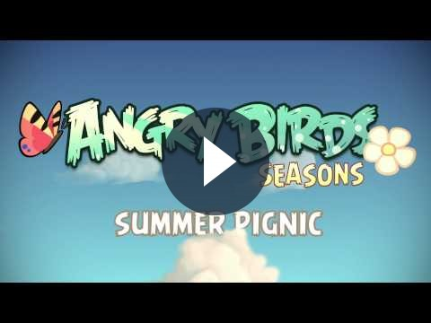 Angry Birds Seasons presto avrà il nuovo update Summer Pignic dedicato all'estate